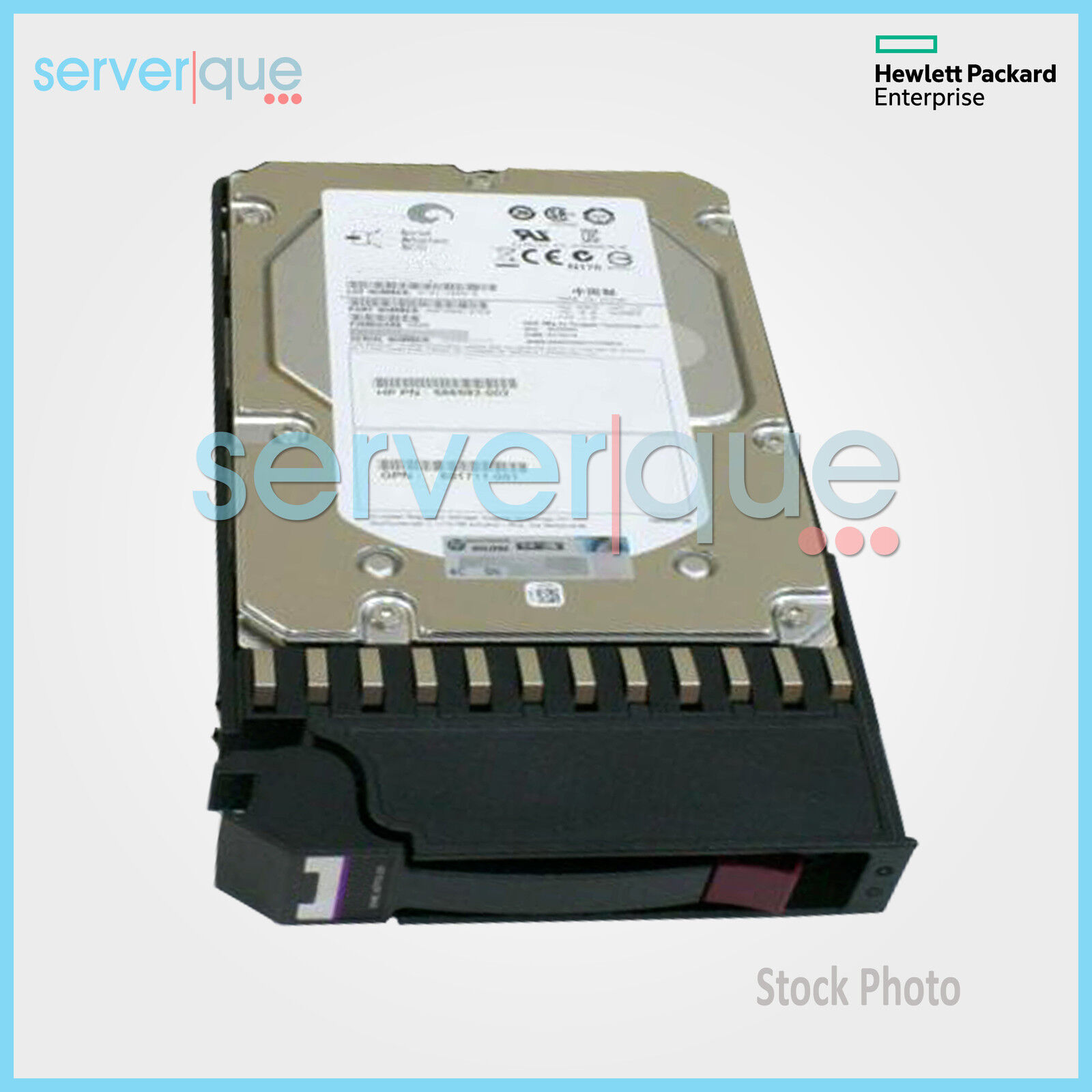 HPE MSA 600GB 12G 15K LFF SAS Enterprise Hard Drive J9V70A 787656-001