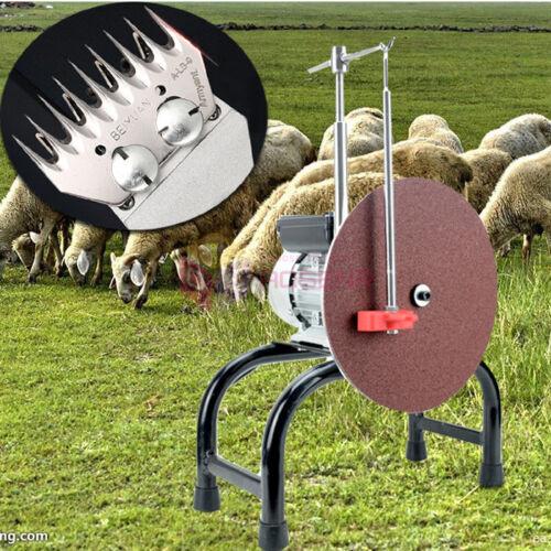 220V Electric Shears Shearing Clipper Blade Grinding Grinder Machine Sheep Farm