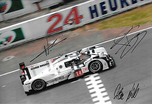 Jani  Dumas  Lieb SIGNED 12x8 Porsche 919 Hybrid LMP1 Le Mans 24hrs  2014 - northampton, Northamptonshire, United Kingdom - Returns accepted Most purchases from business sellers are protected by the Consumer Contract Regulations 2013 which give you the right to cancel the purchase within 14 days after the day you receive the item - northampton, Northamptonshire, United Kingdom