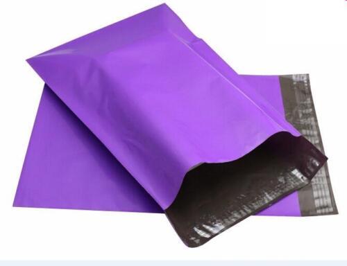 1000 Poly Mailer Envelopes 12x15.5 Self Sealing Plastic Bag Shipping Purple