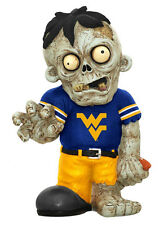 West Virginia Mountaineers Team Zombie Figurine [NEW] NCAA Garden Gnome CDG