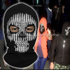 New  watch dogs 2 hacker mask Marcus Holloway 's Mask Cosplay  (eyes holes)