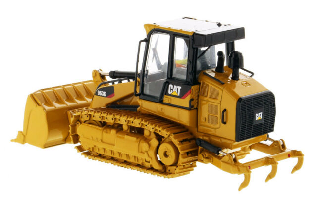 1/50 DM 85572 CAT Caterpillar 963k Track Loader Construction Vehicle High  Line