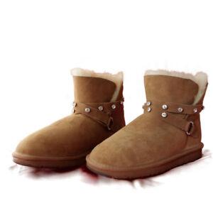 5832bed28e6 Details about PREMIUM Australia Made Shearers UGG Fashion Boots Wool  Sheepskin - Chantelle