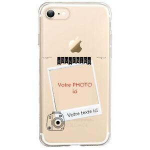 Coque Iphone 7 8 SE 2020 polaroid personnalisee