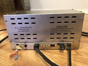 Drake Ac 4 Power Supply For Vintage Ham Radio Transmitter Transceiver Sn 51027 Ebay