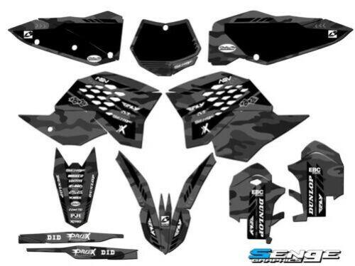 2007 2008 2009 2010 für KTM SX Sxf 125 250 450 525 Grafikkarte Set Deko