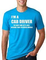Cab Driver T-shirt Funny Taxi Cab Driver Tee Shirt