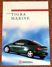 1997 VAUXHALL TIGRA MARINE 1.4i & 1.6i Sales Brochure - Special Edition Model