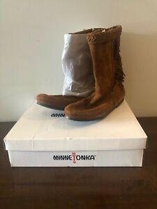 Minnetonka-Women-039-s-Luna-Fringe-Boot