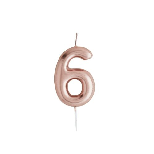Numbers Anniversary Cake Toppers Decorations Birthday Candles
