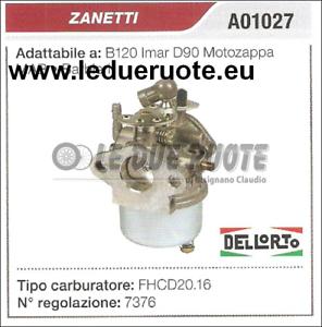 A01027 CocheBURATORE A VASCHETTA FHCD20.16 ZANETTI B120 IMAR D90 MOTOZAPPA
