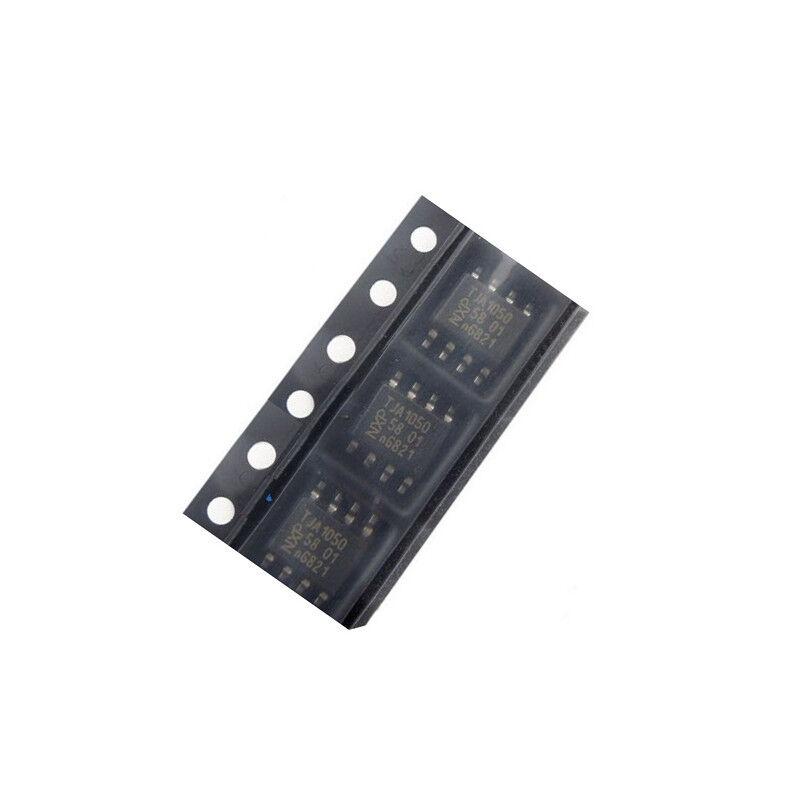 10Pcs PHILIPS TJA1050 SOP-8 TJA1050T SMD High Speed CAN Transceiver