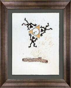 Max ERNST Lithograph ORIGINAL Limited Ed. on Arches w/Archival Frame