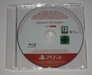 Shadow-of-the-Colossus-Promo-PS4-Promotional-Disc-Press-Rare-PAL-Official