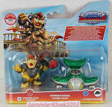 Martello Slam Bowser & Clown Crusher-Skylanders Superchargers Combo Pack NUOVO