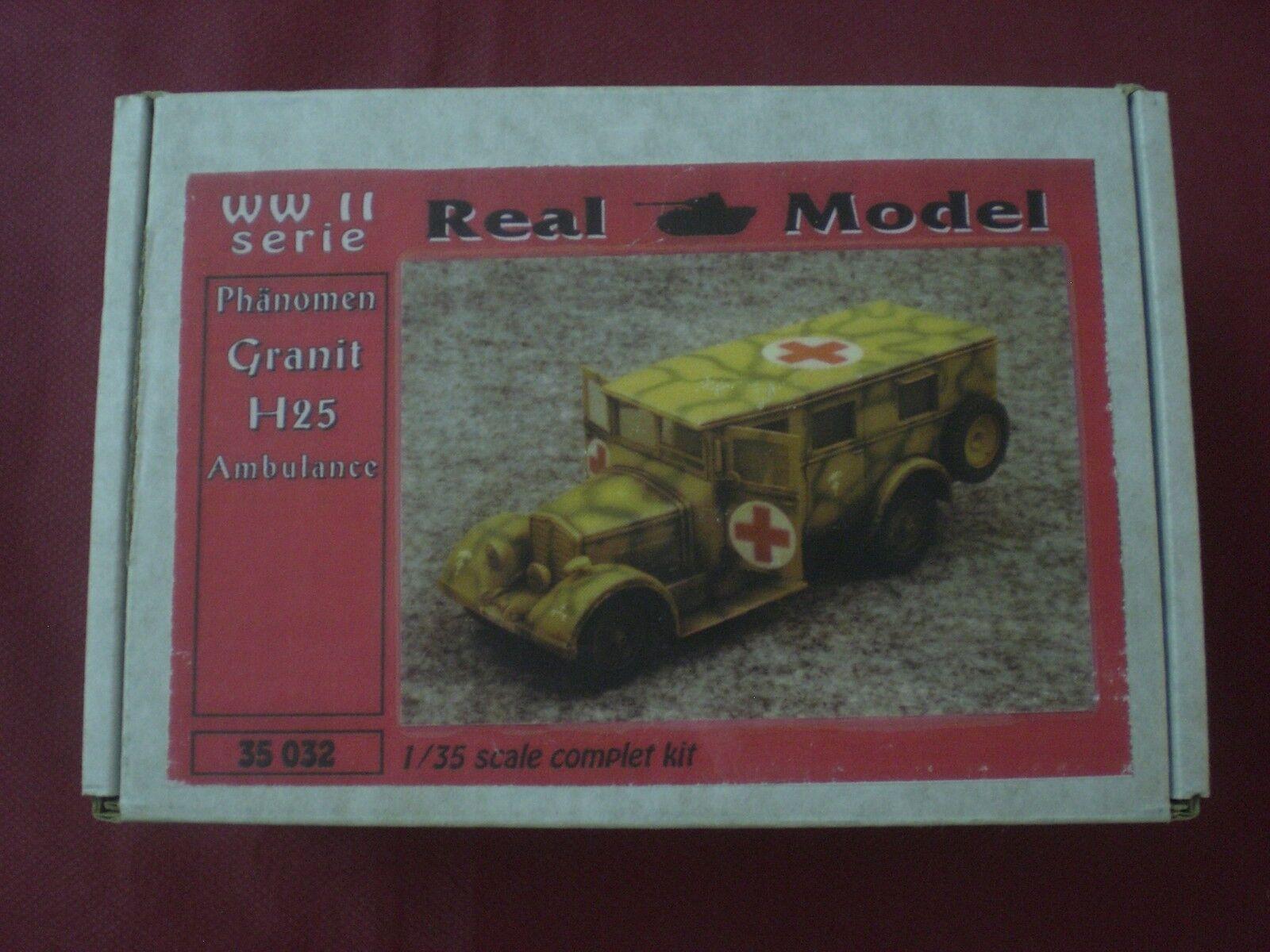 Phanomen Granit H25 Ambulance - SCALA 1 35 Real Model