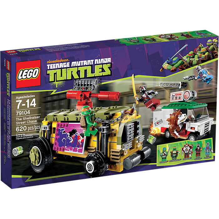 Lego 79104 Neuf En Boite Tortue Ninja The Shellraiser Street Chase NO PAYPAL NEW