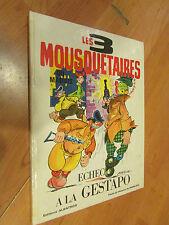 BD bande dessinée 1968 les 3 mousquetaires du maquis echec a la gestapo