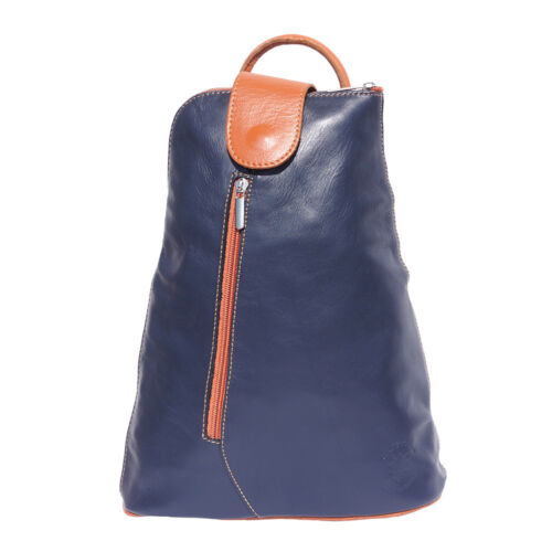 Backpack Purses Bag Italian Genuine Leather Hand made in Italy Florence 2009