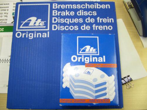 ATE Bremsscheiben und Bremsbeläge mit Warnkt  AUDI A4  //A6 Satz vorne 288mm
