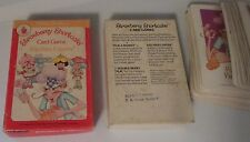 Vintage Strawberry Shortcake Card Game Parker Brothers Kitchen Capers RARE Match