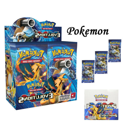 Sun and Moon XY Variable Matrix Booster Box Pokemon 36 Pack of 324pc TCG Cards