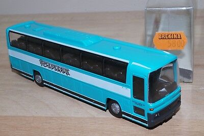 "Brekina 5800 Mercedes Benz O 303 Pullman "" Touring "" Come Nuovo In Conf (b11)"