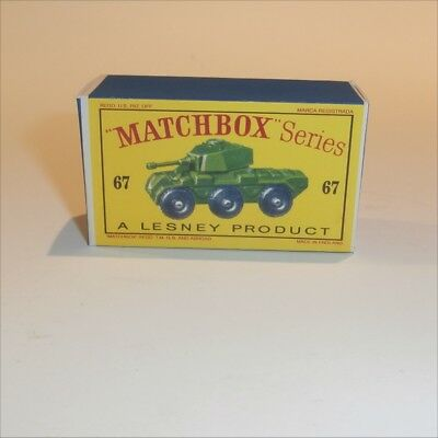 Repro box Matchbox 1:75 nº 67 Saladino Armoured Car