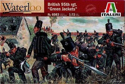 "Italeri - Waterloo - British 95th Rgt. ""green Jackets"" - 1:72 - 6083 Adottare La Tecnologia Avanzata"
