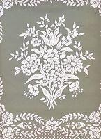 Williamsburg Stencil Reproduction Wallpaper- Green