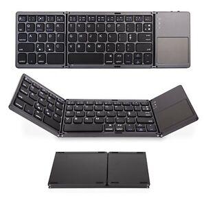 Tri-Fold-Slim-clavier-Bluetooth-compatible-avec-Asus-zenpad-Z300M-Tablette-10