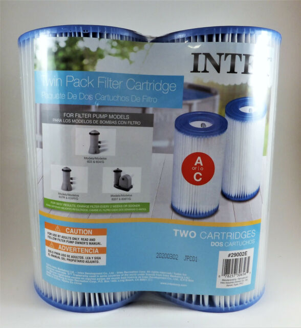 for Intex Easy Set Swimming Pool Type A Or C Filter Replacement Cartridges Pack