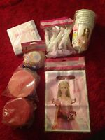 Barbie Birthday Party Supplies Lot Cups Bags Blowouts Napkins Streamers Cupcakes