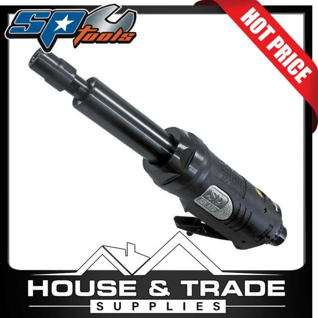 "SP Tools Die Grinder 1/4"" Straight Extended Air Pneumatic SP-7210L"
