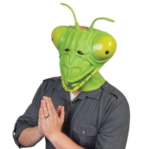 Halloween Mantis Mask Latex Masks Mantis Full Face Mask Adult Cosplay Props