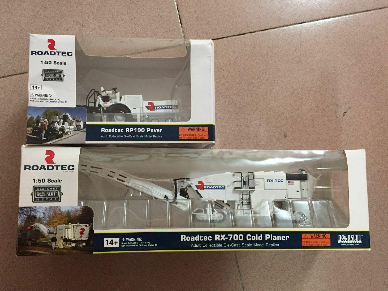 ahorra hasta un 30-50% de descuento ROADTEC RX-700 planificador de frío frío frío Amoladora + RP190 Road extendedoras 1 50 por Norscot 2 piezas  barato