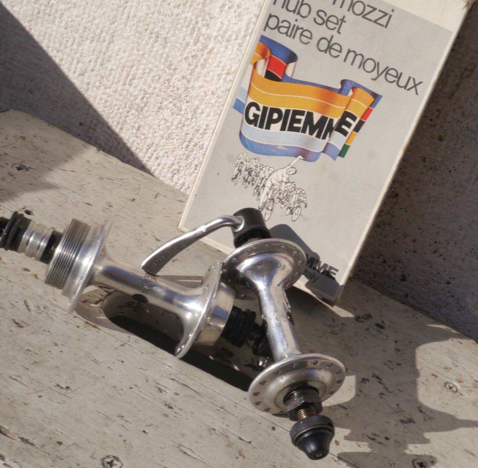 NIB Gipiemme Special  28 Glory Road Bike Small Flange Hub Set Front & Rear Vintage  70% off cheap