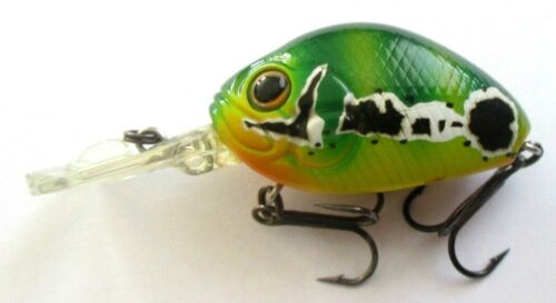 Evergreen Crazy Cradle Wobbler Crankbait 3,7cm Kunstköder Floating