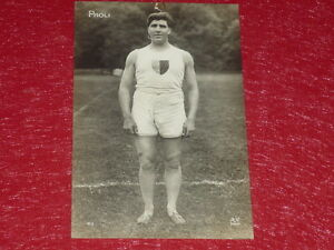 Coll-J-DOMARD-SPORT-OLYMPIC-GAMES-PARIS-1924-RAOUL-PAOLI-FR-CPA-A-NOYER