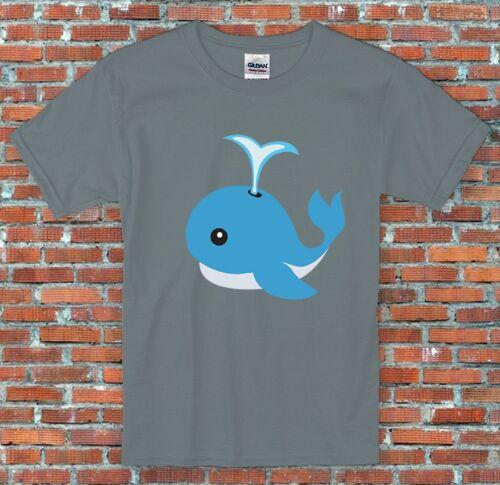Emoji Whale Messenger Facebook Instagram Inspired Unisex T-Shirt S-2XL