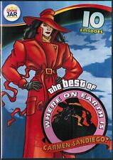The Best of Where on Earth Is Carmen Sandiego: 10 Episodes - DVD, 2012 LOOK !!!