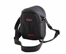 Nylon Shoulder Waist Case Bag For Bridge camera Canon PowerShot SX500IS