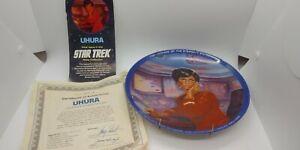 Vintage 1983 Hamilton Collection Star Trek Uhura