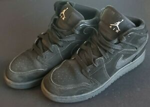 promo code 26c8a d1a8e Details about Air Jordan 1 Mid Retro Basketball Shoes Youth Size 7 US  554725-040 2017