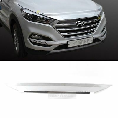 Chrome Bonnet Hood Guard Molding Garnish Trim for HYUNDAI 2016-2017 Tucson TL