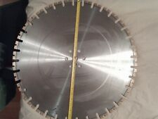 """20/"""" DIAMOND BLADE .187 WALK BEHIND SAWS CURED CONCRETE FOR 65HP SAWS"""