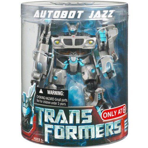 Hasbro Transformers Película De Lujo Exclusivo Canister Autobot JAZZ Figura de acción