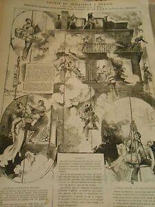1876 Société Des Descenseur à Spirale Appareil De Sauvetage En Cas Incendie