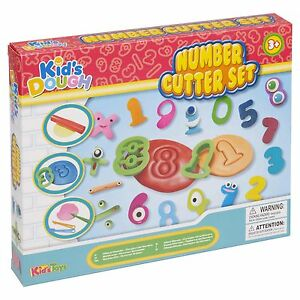 23pc Children Kids Play Dough Shaping Sets Number Cutter Carving Tools Xmas Set